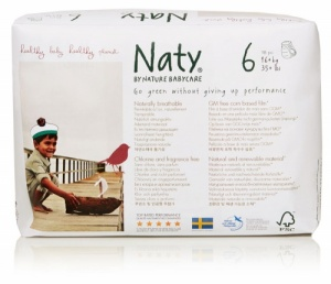 Naty Nature Babycare  Pull Up Nappy Pants Monthly Value Pack Size 6